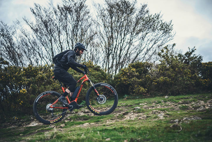 Orbea WILD action