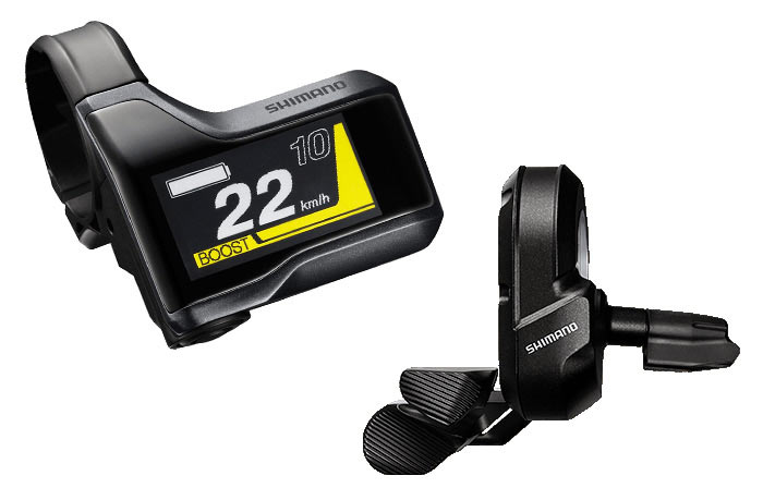 Shimano STEPS E8000 display y mando