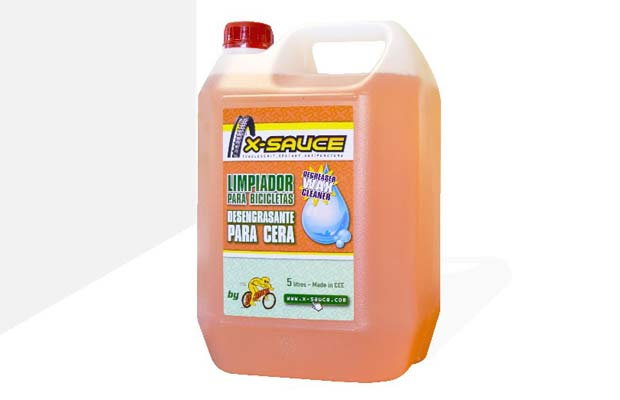 x-sauce limpiador desengrasante 5 litros