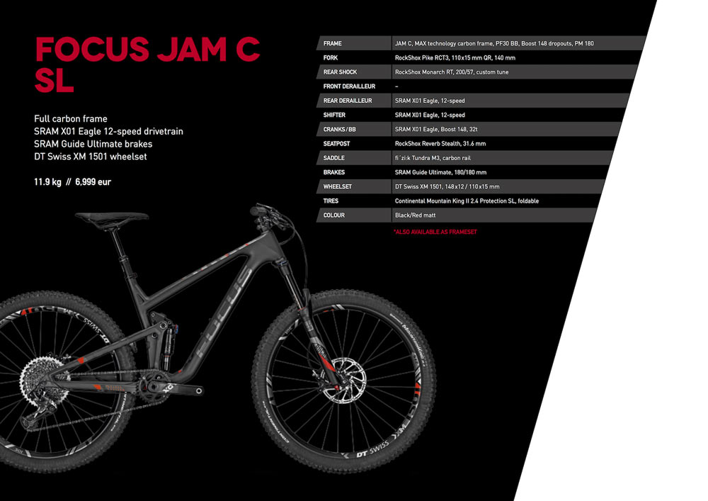 Focus JAM C SL