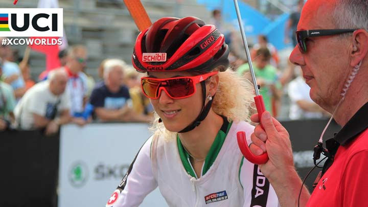 jolanda neff campeonatos del mundo de Nove Mesto 2016