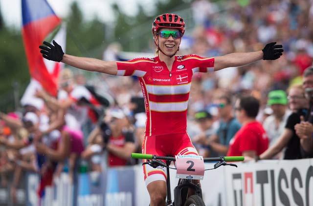 Annika Langvad Campeona del mundo XC 2016 Nove mesto
