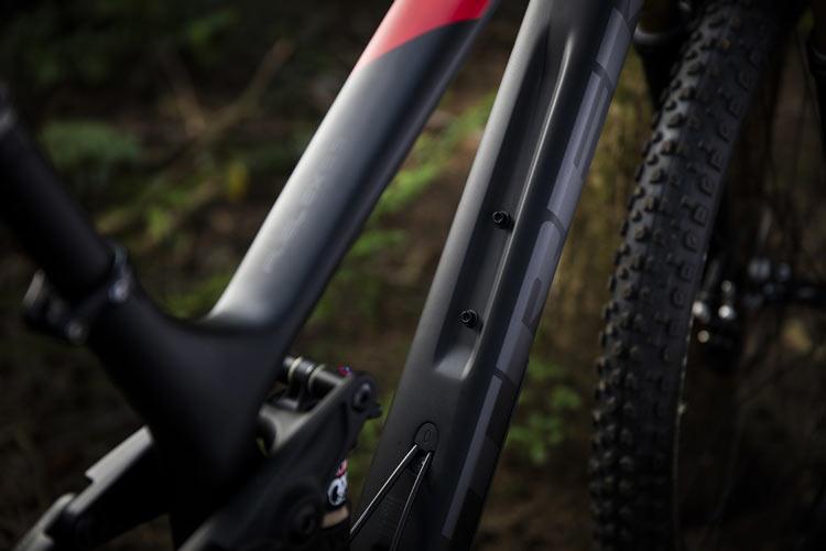Trek Fuel EX 2017 tubo diagonal