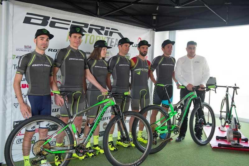 bicicletas berria factory team 2017