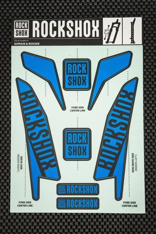 Rockshox Boxxer Kit pegatinas 2017