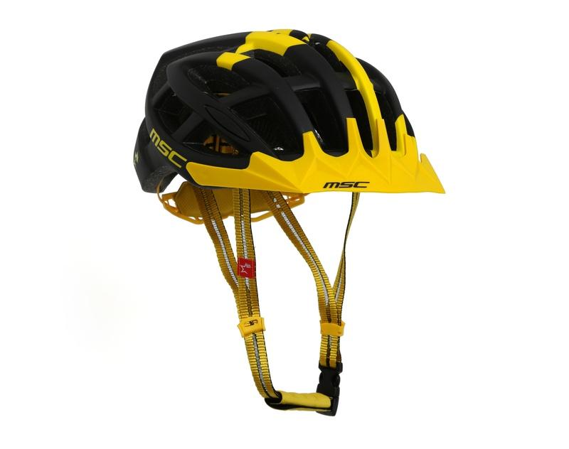 casco mtb msc amarillo