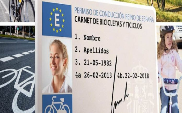 carnet puntos ciclistas
