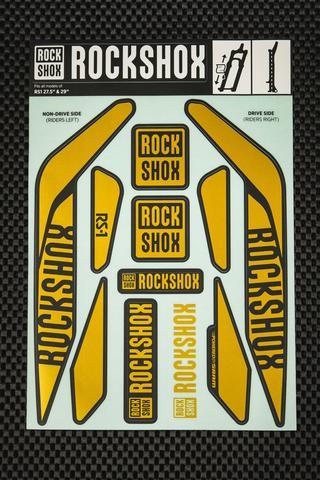 Rockshox RS-1 Kit pegatinas 2017