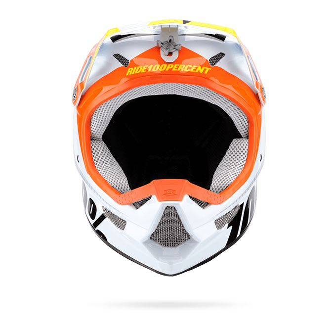 casco 100% Status frontal