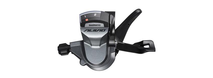 Shimano Alivio M4000 pulsadores