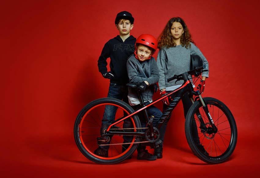 Canyon mountain bike niños