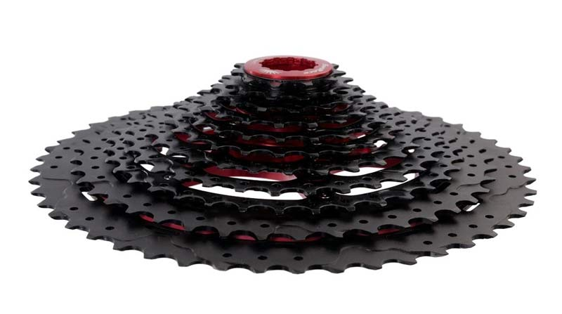 SunRace MX80 11-50T black