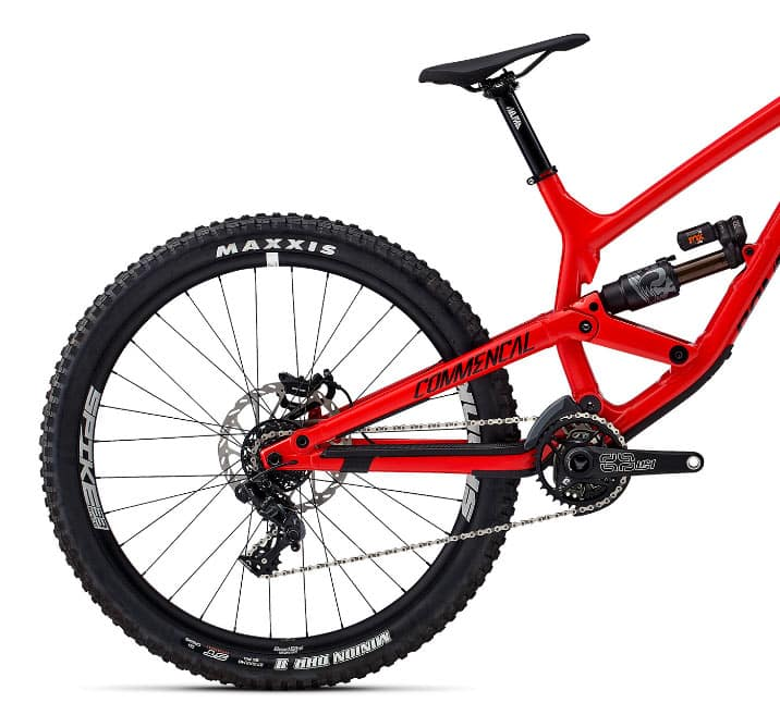 Commencal Furious Contact System