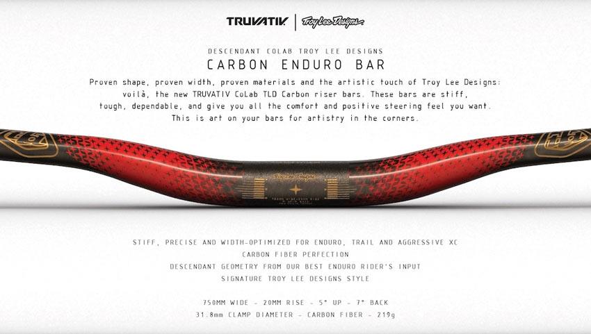 Truvativ Descendant CoLab TLD CARBON ENDURO BAR
