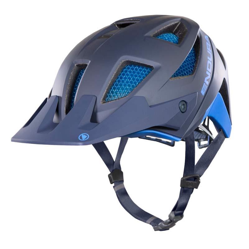 casco Endura MT500 azul