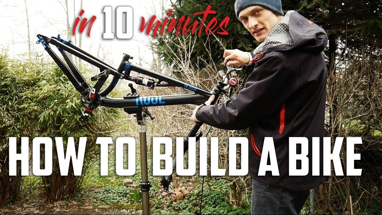 como montar una bicicleta en 10 minutos