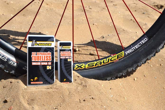 x-sauce mechas tubeless