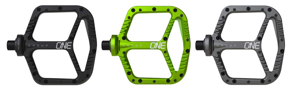 OneUp Components pedales aluminio colores