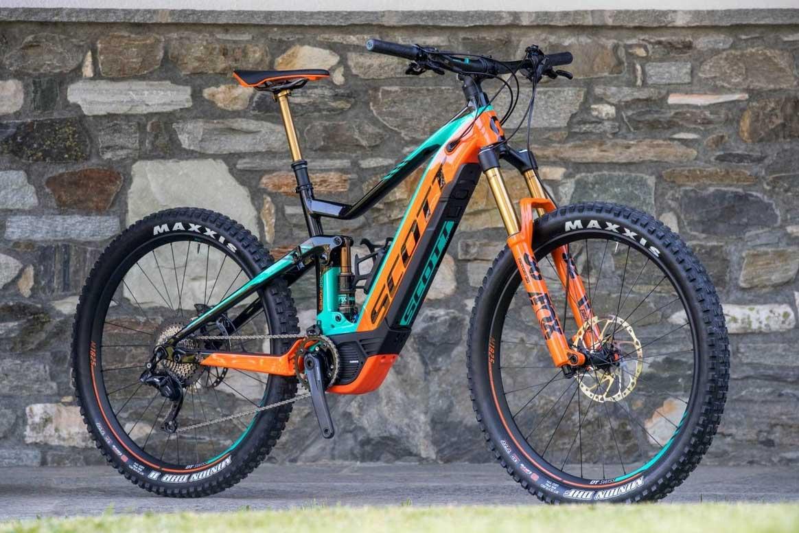 Scott E-Genius 700 Tuned 2018 - Electric Bikes