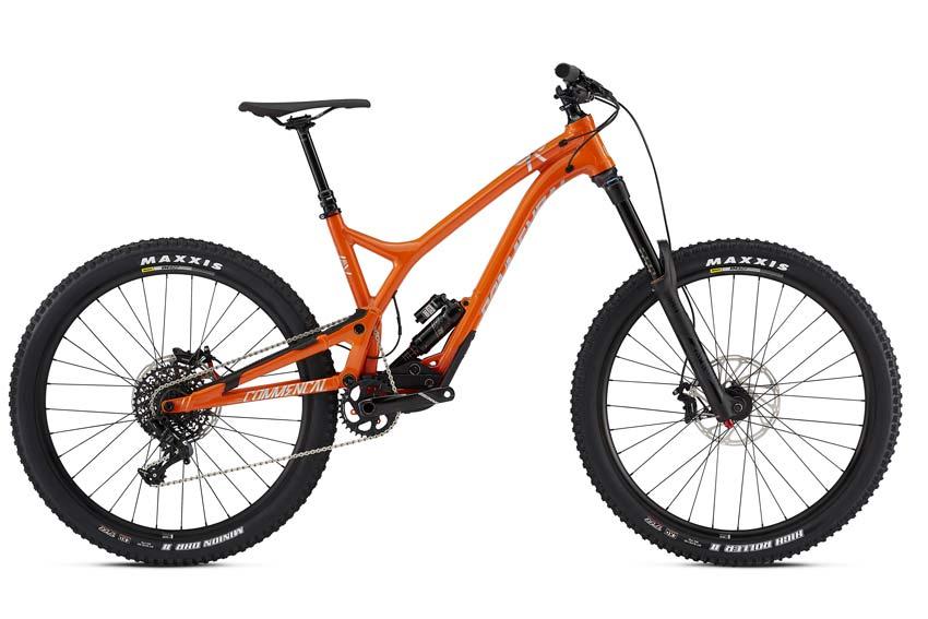 Commencal Supreme SX Orange 2018
