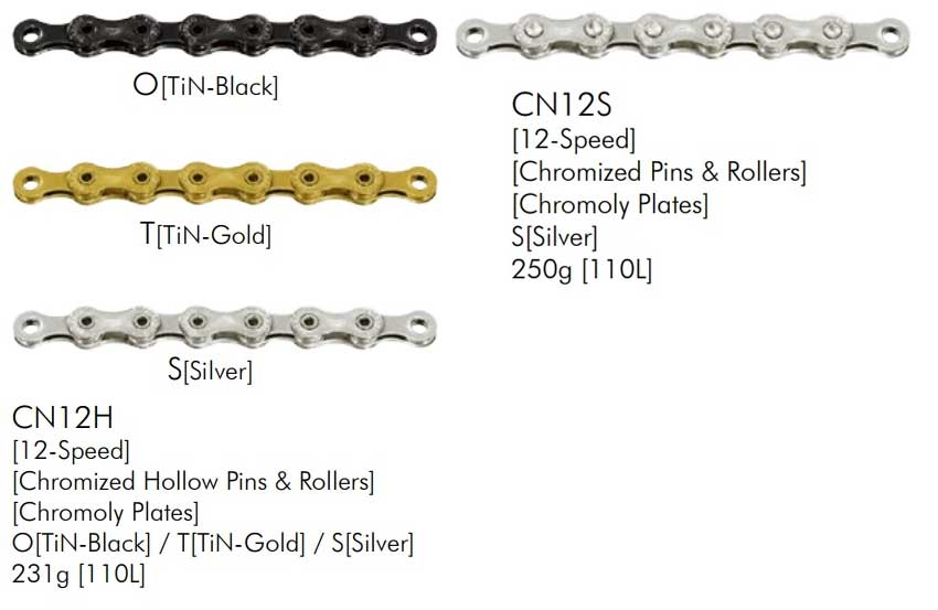 Sunrace MZ 12 velocidades cadena