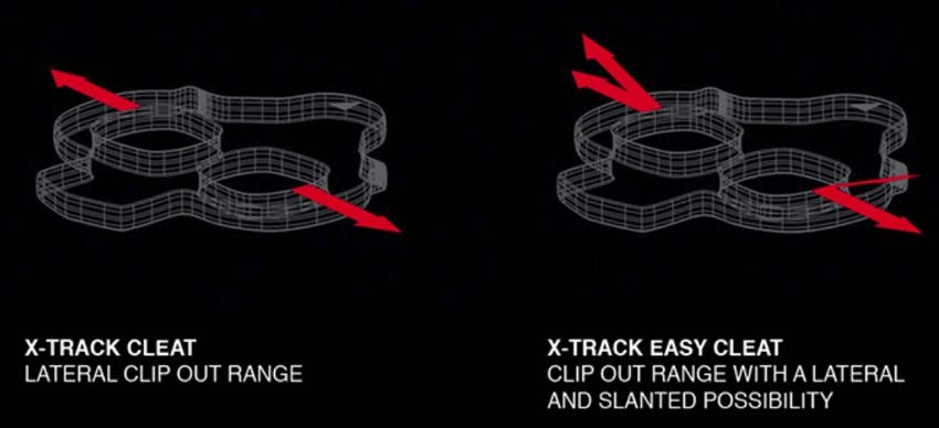 Look X-TRACK EN-RAGE calas