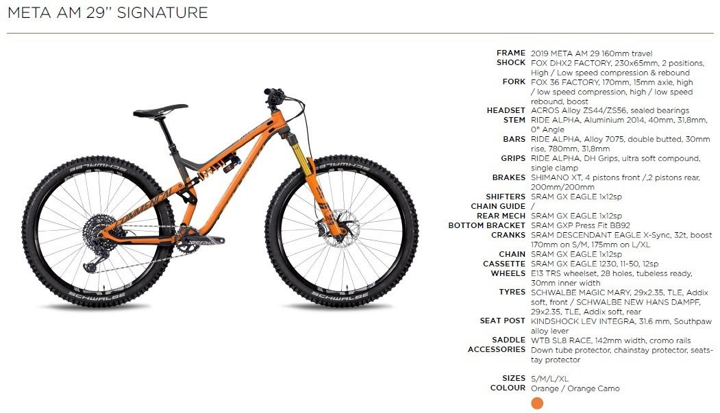 Commencal META AM 29 Signature