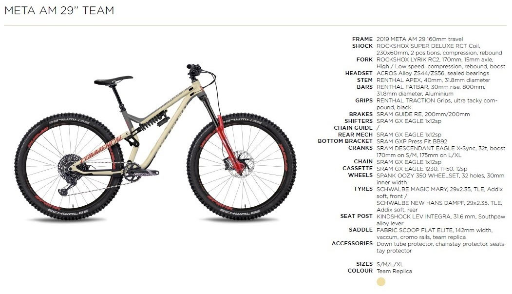Commencal META AM 29 Team