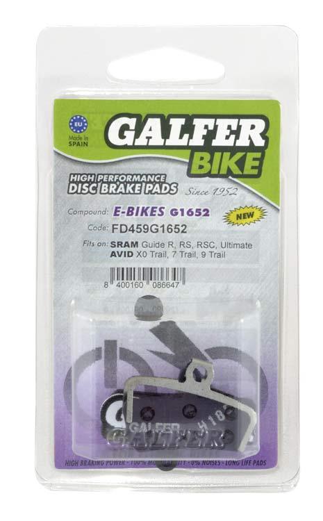 2 Pares de Pastillas de Freno de Disco met/álico para Bicicleta de monta/ña VGEBY1 Pastillas de Freno