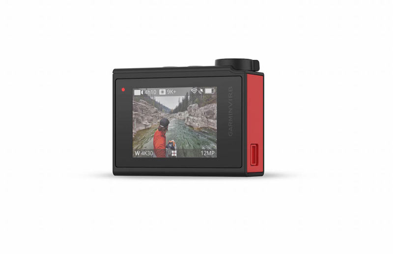 Garmin Virb Ultra 30 pantalla