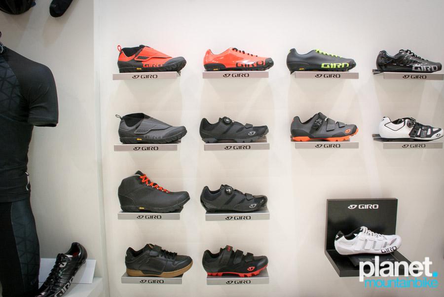 """Diseño """"made in Giro"""" reconocible en toda la gama de zapatillas."""