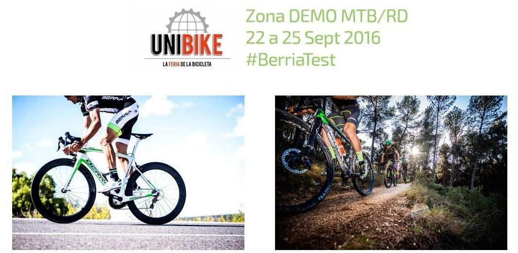 Berria Bikes Test Unibike 2016