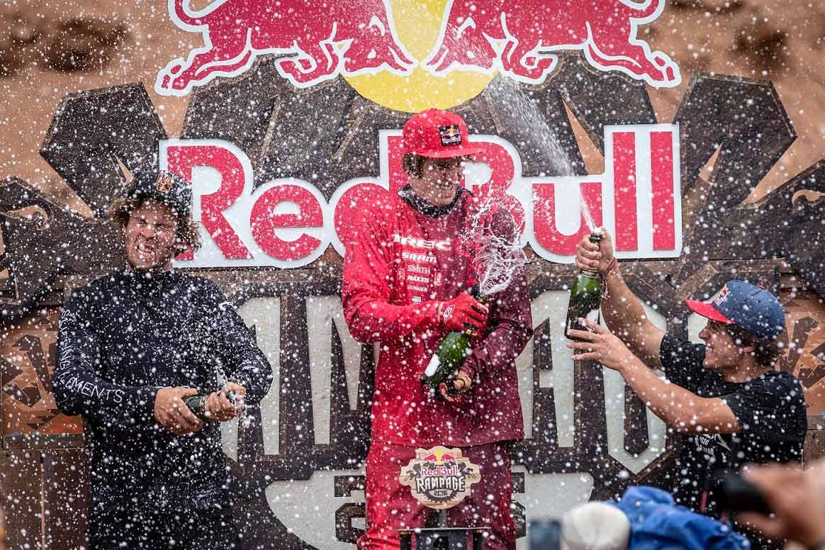 red bull rampage 2016 ganador
